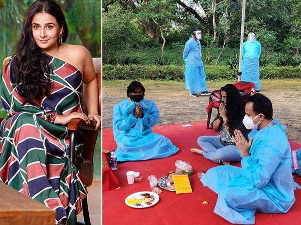 Vidya Balan resumes shooting for Sherni in Madhya Pradesh