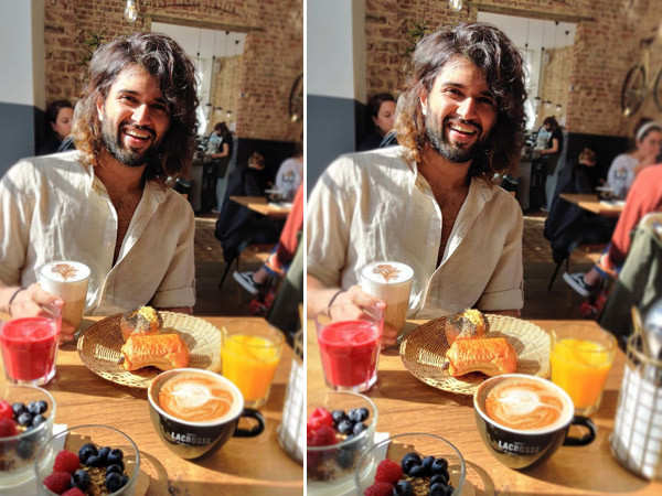 Vijay Deverakonda shares a happy picture from his favourite food-heaven spot