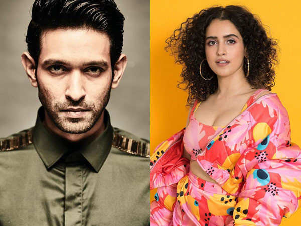 Vikrant Massey and Sanya Malhotra paired opposite each other