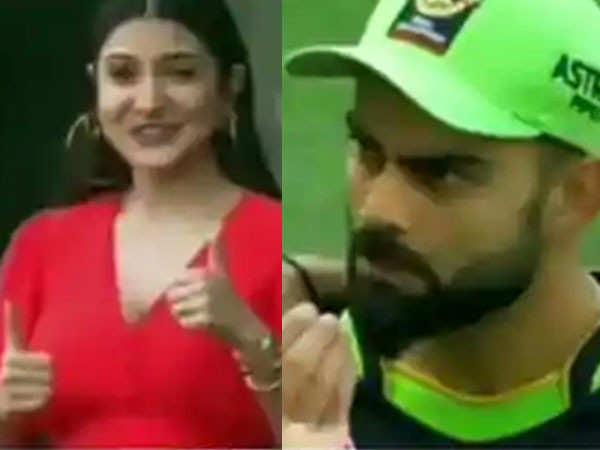 Virat Kohli Checks In On Anushka Sharma In The Middle Of An IPL Game
