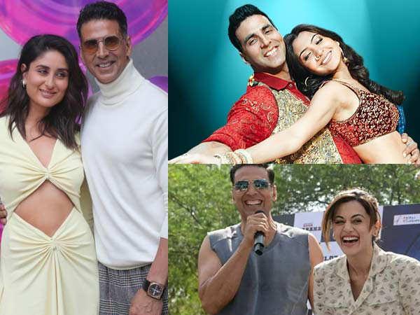 Kareena Kapoor Khan, Taapsee Pannu, Anushka Sharma wish Akshay Kumar