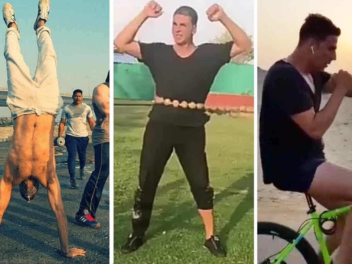 Akshay Kumar fitness