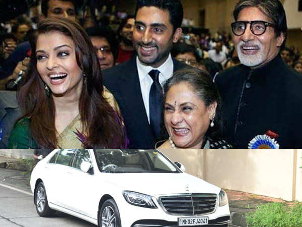 Photos: Check out the new car Amitabh Bachchan has bought