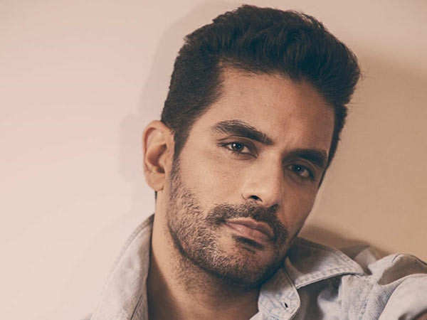 Angad Bedi injures his jaw while shooting for a web series