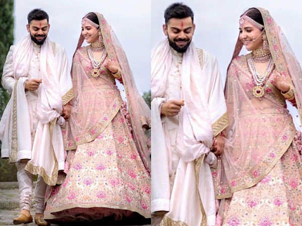 These details about Anushka Sharma's wedding lehenga will blow your mind
