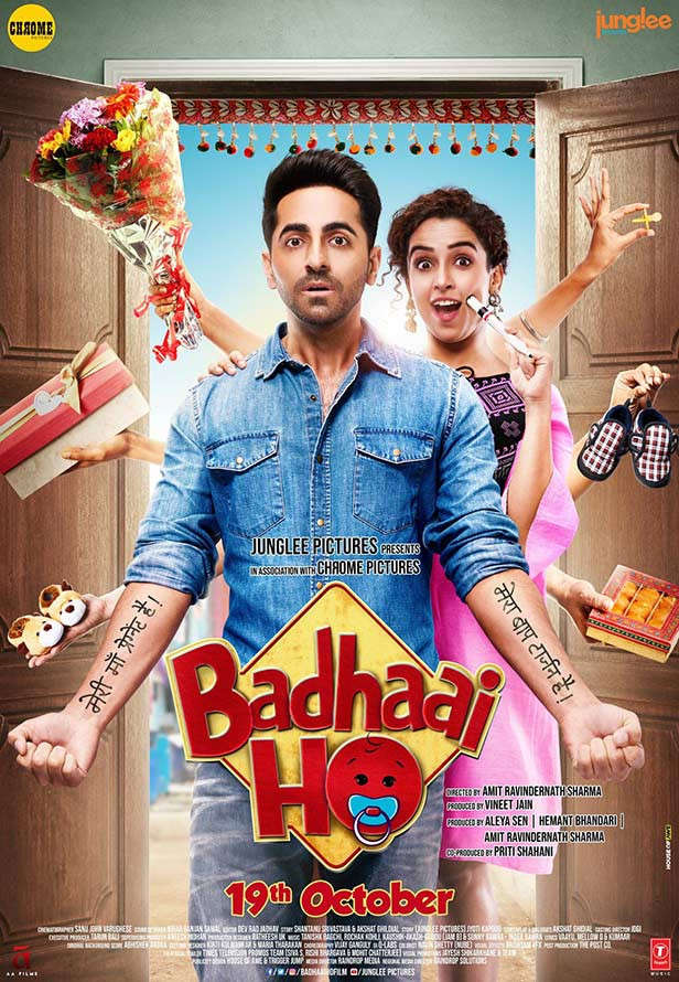 Ayushmann Khurrana Movies Badhaai Ho