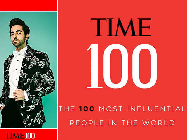 Ayushmann Khurrana Makes it to Time's 100 Most Influential People's List