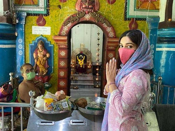 Bhumi Pednekar does temple pilgrimage in Goa