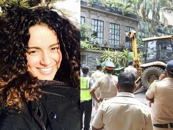 Bombay High Court steps in to stop demolition at Kangana Ranaut's office