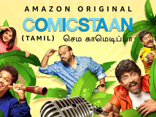 Team Comicstaan Semma Comedy Pa share their excitement as they set off on a new journey