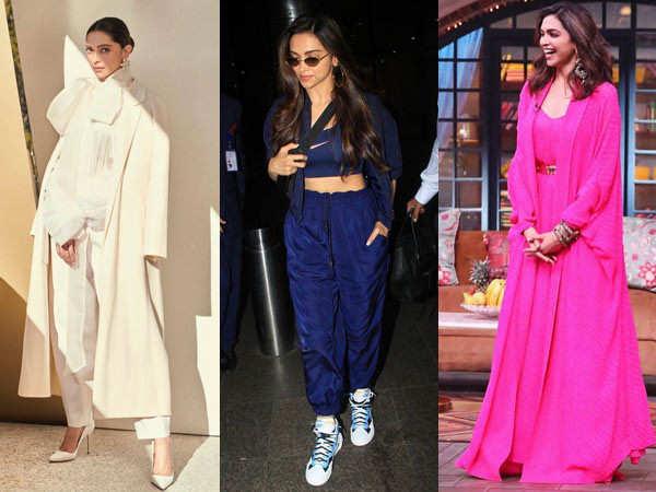 Times Deepika Padukone Rocked Monotone Outfits