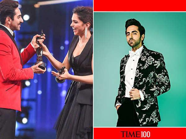 Deepika Padukone Congratulates Ayushmann Khurrana for Making it to Time's 100 List
