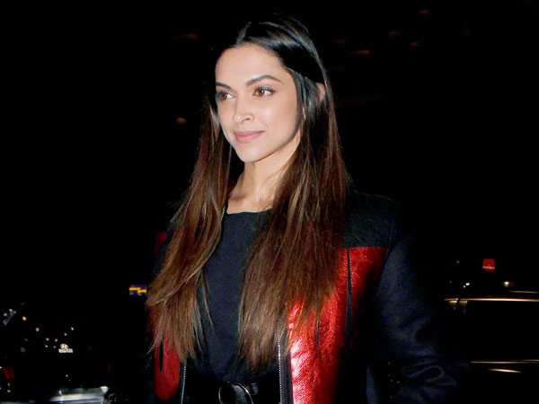 Deepika Padukone to fly back from Goa in a charter flight today?