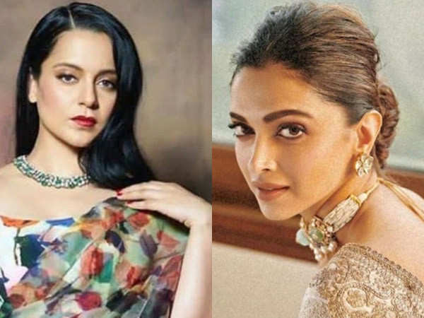 Kangana Ranaut Takes a Dig at Deepika Padukone after Alleged Involvement with the Drug Nexus