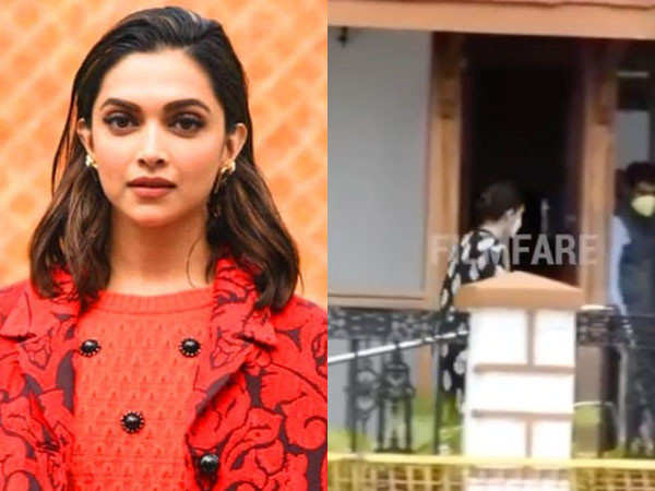 Deepika Padukone's Manager Karishma Prakash Arrives for Questioning at the NCB Office