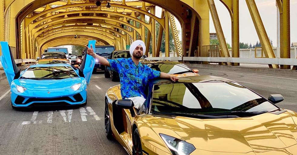 Diljit Dosanjhâs car collection is bound to make you feel envious
