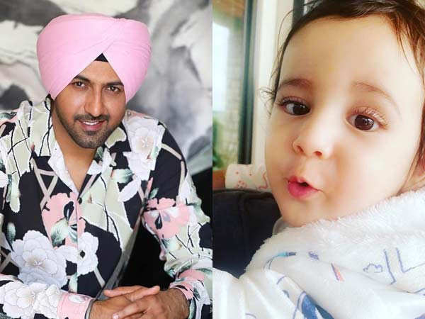 Gippy Grewal's son Gurbaaz is Winning Hearts on the Internet with this Click