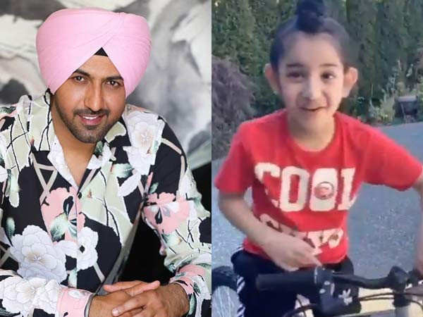 Gippy Grewal's sons dancing to his song Ayen Kiven is our favourite video for the day