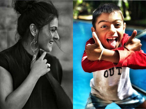 Kajol wishes her son Yug happy birthday in a special way