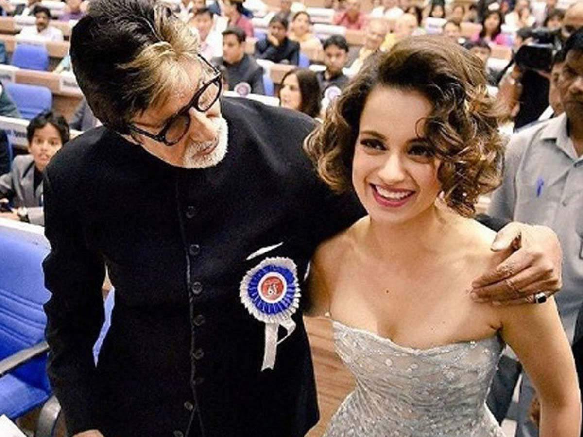Kangana Ranaut Amitabh Bachchan