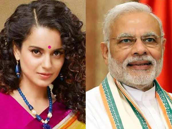 Kangana Ranaut sends out wishes to Prime Minister Narendra Modi on his 70th birthday