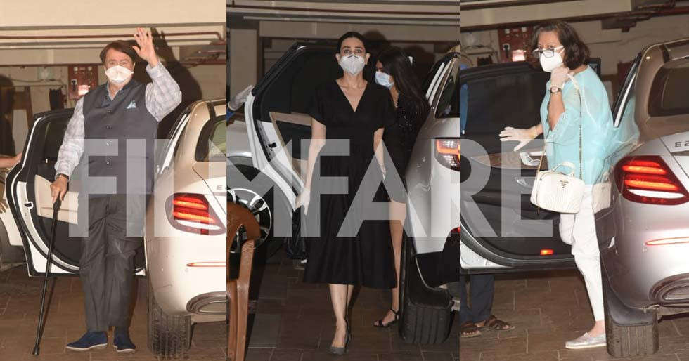 Photos: Kareena Kapoor Khan's family arrives to bring in her birthday