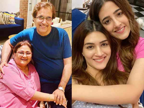 Kriti Sanon shares a glimpse of her family vacation