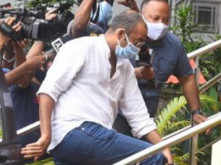 Pictures: Madhu Mantena Arrives for Questioning by the NCB