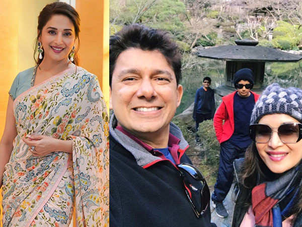 Madhuri Dixit Nene shares a throwback family picture and it's all heart
