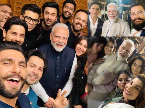 Remembering Prime Minister Narendra Modi's Epic Moments with Bollywood Stars