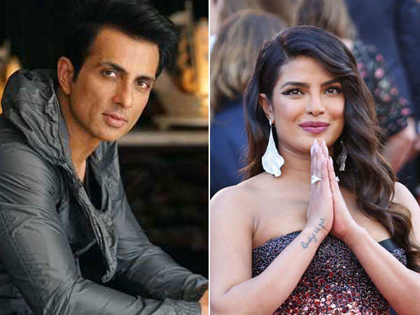 Priyanka Chopra congratulates Sonu Sood for receiving the Special