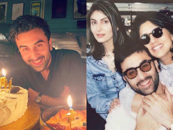 Here's a Sneak Peek into Ranbir Kapoor's Birthday Celebration