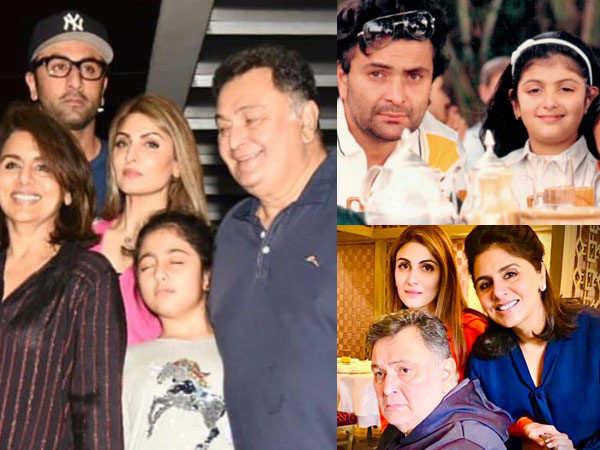 Riddhima Kapoor Pens a Heartfelt Tribute for Father Rishi Kapoor