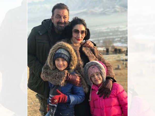 Sanjay Dutt is back from Dubai after meeting his kids