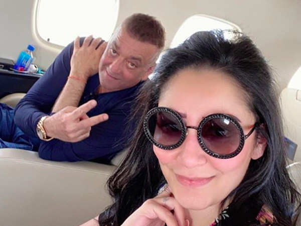 Sanjay Dutt Jets off to Dubai to Meet his Kids before Resuming Treatment