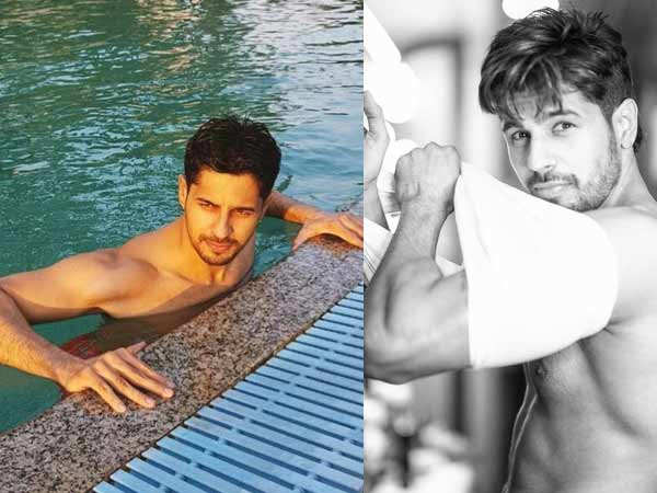 Sidharth Malhotra explains how aqua training is great for muscles