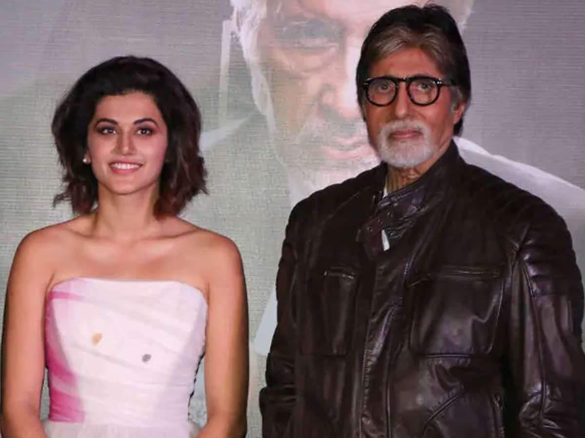 Taapsee Pannu Amitabh Bachchan