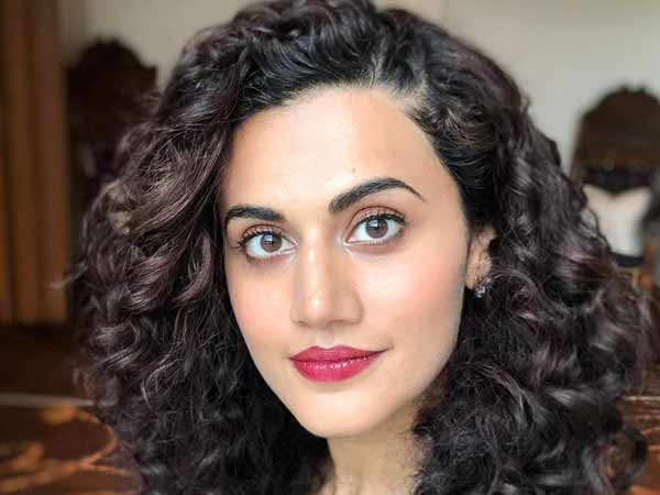 Taapsee Pannu has something to say about Rhea Chakraborty