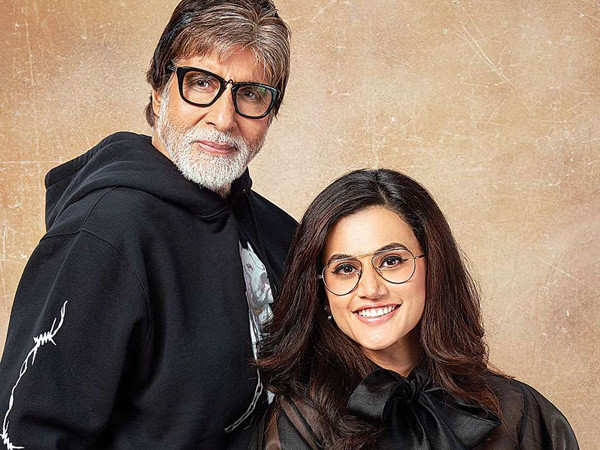 Taapsee Pannu on Why She Never Treated Amitabh Bachchan like a Superstar During the Shoot of Pink