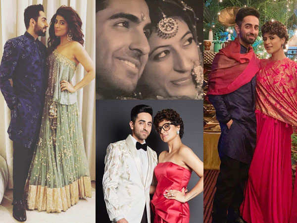Photos that prove Ayushmann Khurrana and Tahira Kashyap complement each other