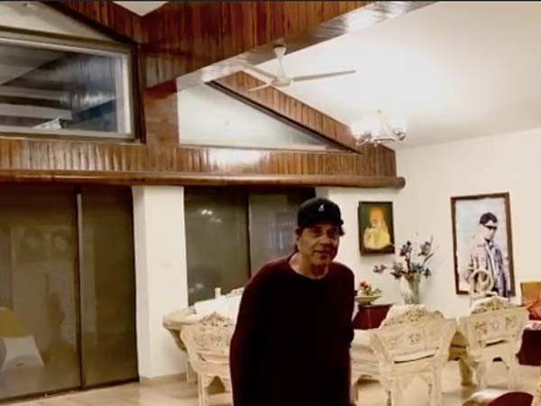 Veteran actor Dharmendra takes us on a tour of his beautiful house