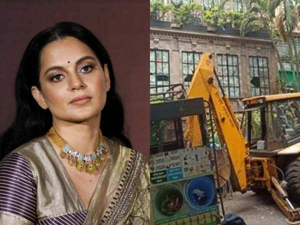 Kangana Ranaut Asks for Rs. 2 Crores Compensation from BMC from Damages