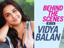 BTS alert: Making of Vidya Balan's latest Filmfare cover