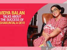 Vidya Balan talks about the success of Shakuntala Devi
