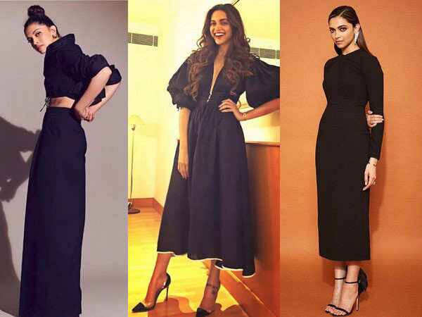 9 times Deepika Padukone slayed in a black outfit