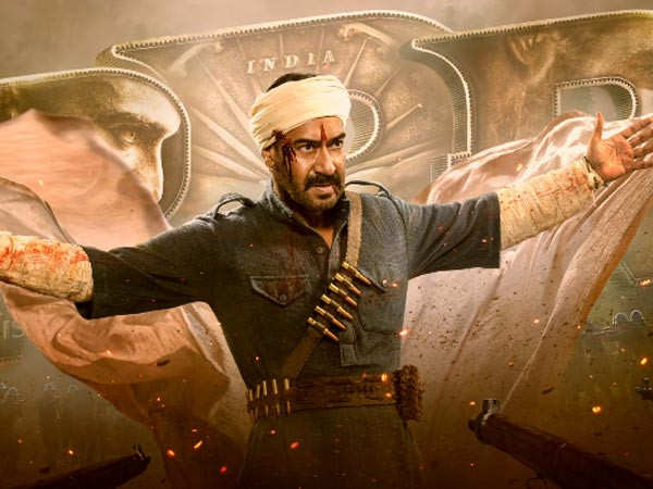 Ajay Devgn's motion poster of RRR unveiled on his birthday