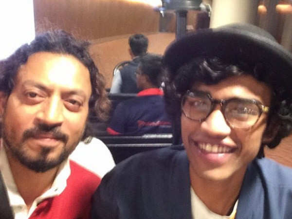 Babil regrets that Irrfan Khan can't see him act now