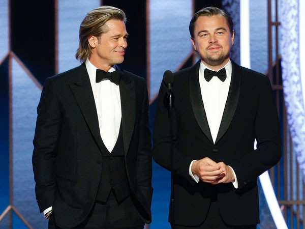 Brad Pitt remembers Leonardo DiCaprio at the Oscars 2021