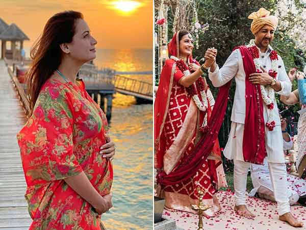 Dia Mirza states that she didn't get married to Vaibhav Rekhi just because of the pregnancy