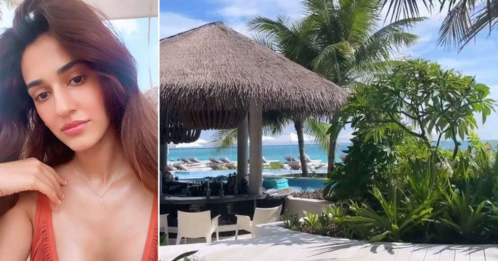 Photos: Disha Patani gives us a glimpse of her vacation with Tiger Shroff in Maldives